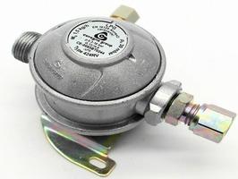Caravan Bulkhead Gas Regulator 10mm 30mbar