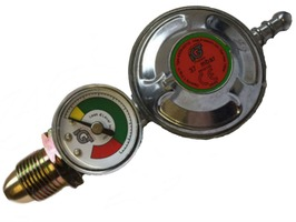 Propane Regulator With Leak & Level Gauge