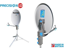 Maxview Precision I.D. 55cm Portable Satellite TV System