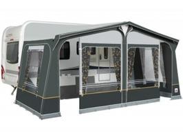 Dorema Daytona Caravan Awning with EasyGrip Steel Frame - Charcoal
