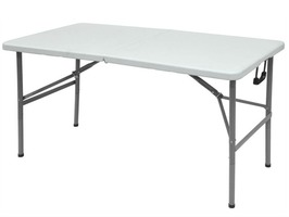 Streetwize 4ft Folding Blow Moulded Table