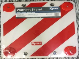 Kampa Plastic Warning Signal with Reflectors