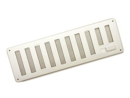 """Hit and Miss Vent White 9.5"""" x 3.5"""""""