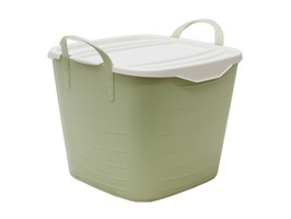 JVL Funktional Large Storage Tub 35ltr Green