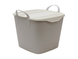 JVL Funktional Small Storage Tub 25ltr Grey