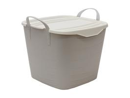 JVL Funktional Small Storage Tub 25ltr Grey