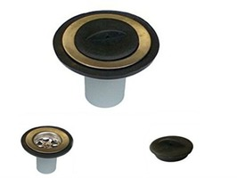 "1-1/4""  Straight Sink Waste 28mm with Plug"