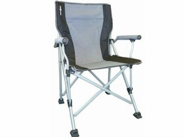 Brunner Raptor Folding Chair-Silver/Black