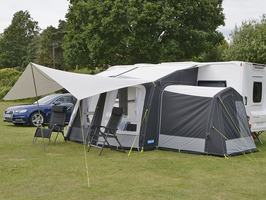 Kampa Ace AIR Pro 300 with Dual Pitch Roof System 2019