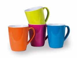 Kampa Summer 4 Piece Melamine Mug Set