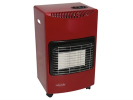 Lifestyle Large Gas Mobile Radiant 4.2kW Cabinet Heater