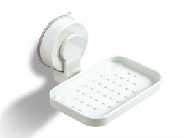 Kampa White Soap Dish Suction Pad Fitting