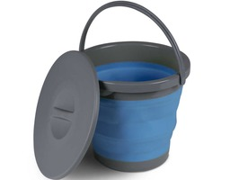 Kampa 5 Litre Collapsible Bucket with Lid