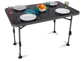 Kampa Element Waterproof Table Large Charcoal