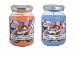 Fallen Fruits Garden Candle In Glass Jar