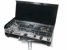 Kampa Cucina Double Burner & Grill