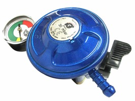 21mm Clip-On Butane Regulator With Leak & Level Gauge