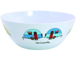 Flamefield Love Caravanning 25cm Salad Bowl