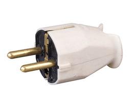 Schuko Continental 2 Pin Plug