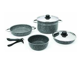 Beaver Stone Rock 20 Aluminium Cookware Set