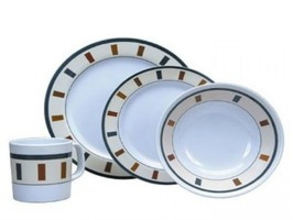 Elegance 16 piece Boxed Melamine Tableware Set
