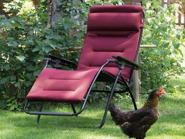 Lafuma Futura Air Comfort Recliner Bordeaux