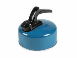 Kampa Billy 1 Litre Whistling Kettle - Blue