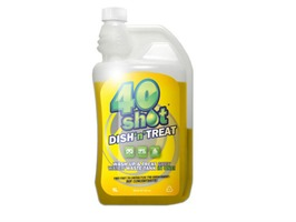 40 Shot 1L Dish-n-Treat Cleaner