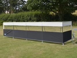 Kampa Pro Windbreak 5 Panel - Aluminium Frame