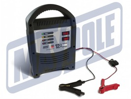 Maypole 12A LED Automatic 12v/24v Battery Charger