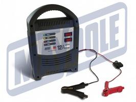 Maypole 12A LED Automatic 12v/24v Battery Charger