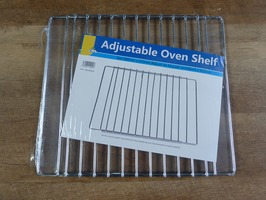 PLS Universal Adjustable Oven Shelf