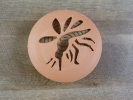 Citronella Coils in Terracotta Holder