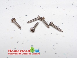 "W4 No. 6 3/4"" Stainless Steel Pan Head. Pozidrive Self Tapping Screw"