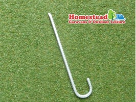 Heavy Duty Ribbed Tent & Marquee Peg 34cm