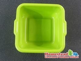 Square Caravan Washing Up Bowl 29cm