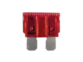 W4 10 Amp Blade Fuse Red - Pack of 3