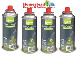 Kampa 227g Gas Cartridge - Pack of 4