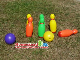 Plastic Bowling Set by Redwood Leisure