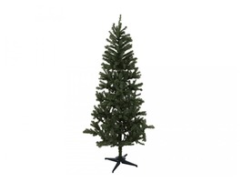 210cm 697 Tip PVC Promotional Christmas Tree with Plastic Base