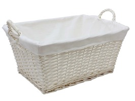 JVL 48 Litre Willow Laundry Basket