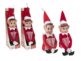 "26"" (66cm) Red Long Legged Vinyl Head Red Elf"