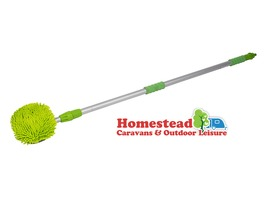 Kampa 2.5 Metre Telescopic Flow-Thru Brush