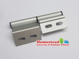 "Static Caravan Aluminium Door Hinge 4"" - Right Hand"