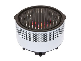 B&CO Alfresco Smokeless Charcoal BBQ Grill