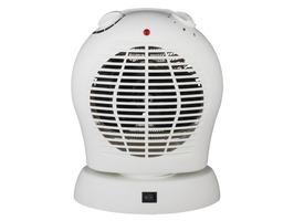 Quest Bahama Dual Purpose Oscillating Electric Fan Heater
