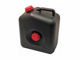 Black Waste Container 23 Litre