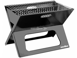 Brunner Alamo Portable Charcoal BBQ / Grill - Black
