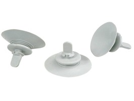 Brunner Cli-Mat Suction Cups - Pack of 3