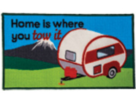 Quest Home Is Where You Tow It Caravan Washable Mat